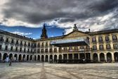 City council in the New square, Vitoria — Stock Photo