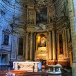 Inside of Saint Vicent church in San Sebastian, Spain - Stock fotografie