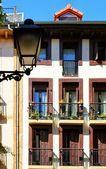 详细介绍了建筑的圣塞巴斯蒂安 — 图库照片