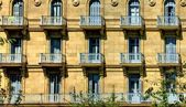 Building detail of San Sebastian — Stockfoto