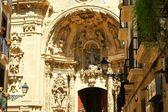 サンタ・マリア ・ デル ・ コロのバシリカの戸口の詳細 — ストック写真