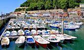 San Sebastian (Donostia) harbour — ストック写真