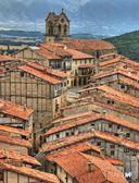 Panoramic view of Frias — Stock Photo