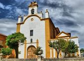 San Juan de Sahagun church — Stock Photo
