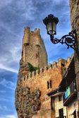 Castle of the city of Frias — Stock Photo