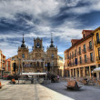 Plaza Mayor of Astorga - Stock Photo