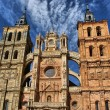 Saint Mary Cathedal of Astorga — Stock Photo