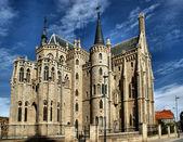 Episcopal Palace in Astorga — Stock Photo
