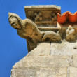 Gothic gargoyle in Matriz church — Stock Photo
