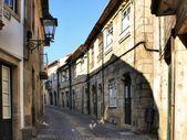Old street in Vila do Conde — Stock Photo