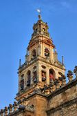 Bell tower of the Mosque Cathedral in Cordoba — ストック写真