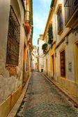 Street of jewish quarter in Cordoba — Stock Photo