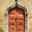 Door Church in Moura — Stock Photo
