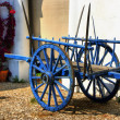 Vintage wooden cart in Alentejo — Stock Photo