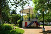 Bandstand of Moura village — Stock Photo