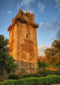 Ancient castle tower in Beja — Stock Photo