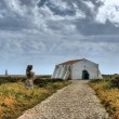 Inside fortress in Ponta de Sagres — Stock Photo