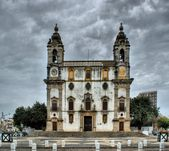 Church of Carmo in Faro — Stock Photo