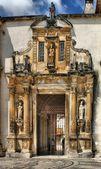 железные двери университета коимбры — Стоковое фото