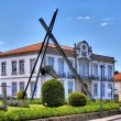 Town hall of Vila Nova de Cerveira — 图库照片