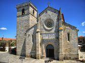 Gothic church in Caminha — Stock Photo