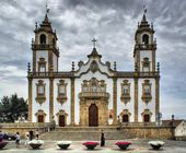 The Church of Mercy in Viseu — Stock Photo