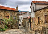 Old rural village of Linhares da Beira — Stock Photo