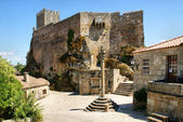 Medieval castle of Sortelha — Stock Photo
