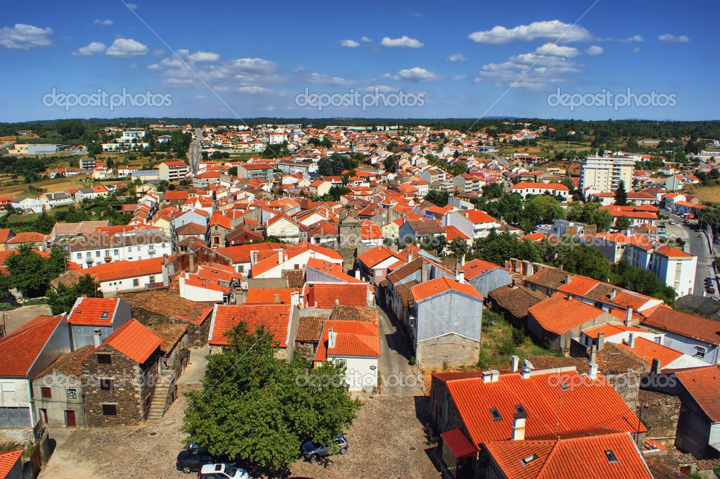 Historical village of Sabugal, Portugal