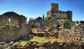 Ruiny marialva historické vesnice v meda — Stock fotografie