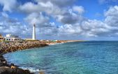 "Lighthouse in ""Farol"" island — Stock Photo"