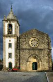 Romanesque church of Fonte Arcada — Stock Photo