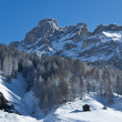 View of mountain, Alta Badia - Dolomites — Stock Photo