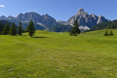 Dolomites mountains landscape — 图库照片