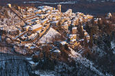 Antico borgo in montagna — Foto Stock
