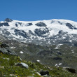 Plateau Rosa glacier - Aosta Valley - Stock Photo