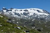 Plateau Rosa glacier - Aosta Valley — Stock Photo