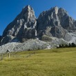 Sass de Putia, Dolomites - Italy — Stock Photo