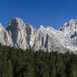 The Odle, Dolomites - Italy — Stock Photo
