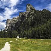 意大利多洛米蒂山-vallunga — 图库照片