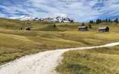 Mountain path, Dolomites — Stock Photo