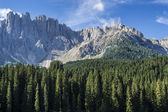 Mountain Latemar, Dolomiti — Stock Photo