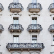 Stock Photo: Balconies and windows
