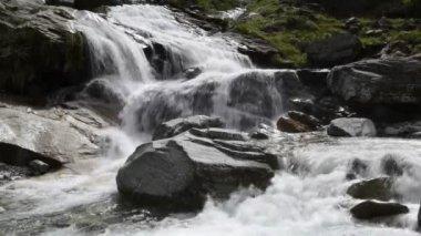 Waterfall Froda, Switzerland — Stock Video