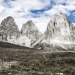 Sassolungo, Val Gardena - Dolomites — Stock Photo