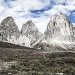 Sassolungo, Val Gardena - Dolomites — Stock Photo