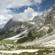 Dolomiti Val Venegia panorama — Stock Photo