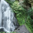 Waterfall in the forest, Cavalese - Italy — Stock Photo