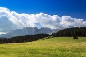 доломиты, гору латемар панорама — Стоковое фото