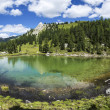 Stock Photo: Lagusel Lake, Dolomiti - Italy